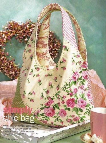 Bolsa Em Tecido Moldes : Sucateando bolsas de tecido com moldes