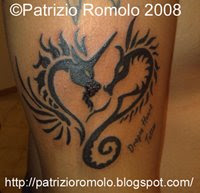 TATTOO DRAGON HEART