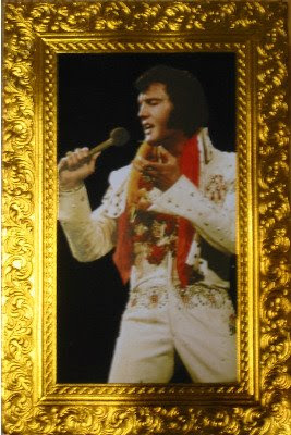 Velvet Elvis birthday card