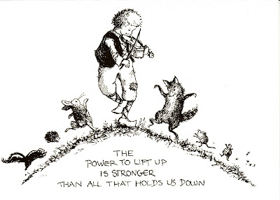 The power to lift up