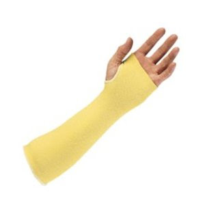 Kevlar sleeve with thumb hole