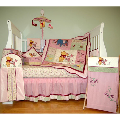 Two for one special nursery ideas boy girl for Winnie the pooh bedroom designs