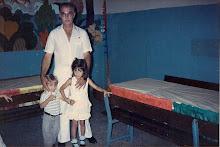 Con su Abuelo Antonio