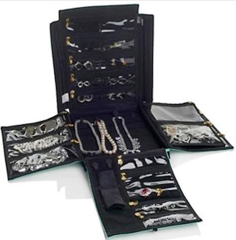 FlipFoldThe Ultimate Folding Tool Flip N Dazzle Jewelry Organizer