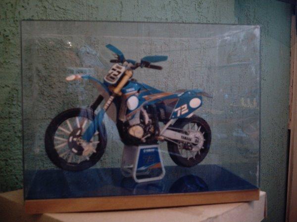 Moto trilha Yamaha