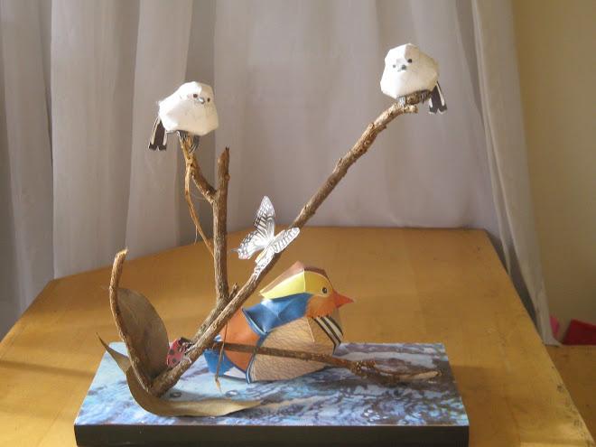 Pássaros com Patinho-2