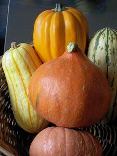 ... it is winter squash week...want a recipe for stuffed acorn squash