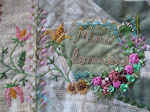 Üks tikandus / Ribbon embroidery