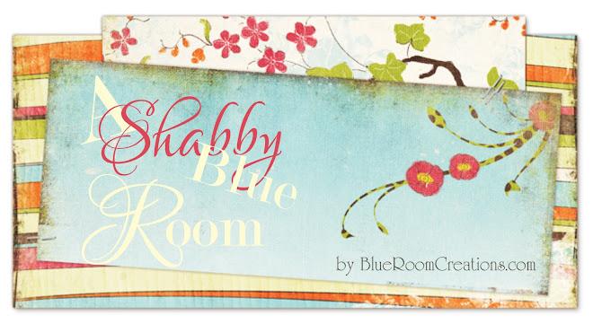 A Shabby Blue Room
