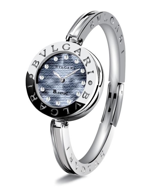 Ilustración Digital: Reloj Bvlgari