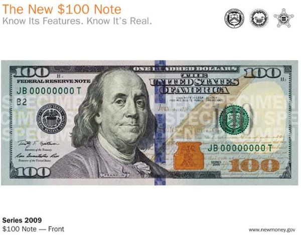 1 dollar bill back. 1 dollar bill actual size.