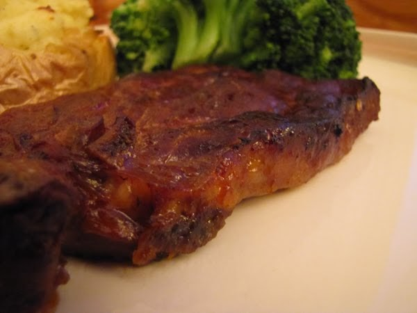 bon app233tit ovenbaked barbecue pork chops