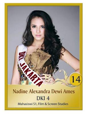 Nadine Alexandra Goddard Ames: Miss Indonesia 2010!!!