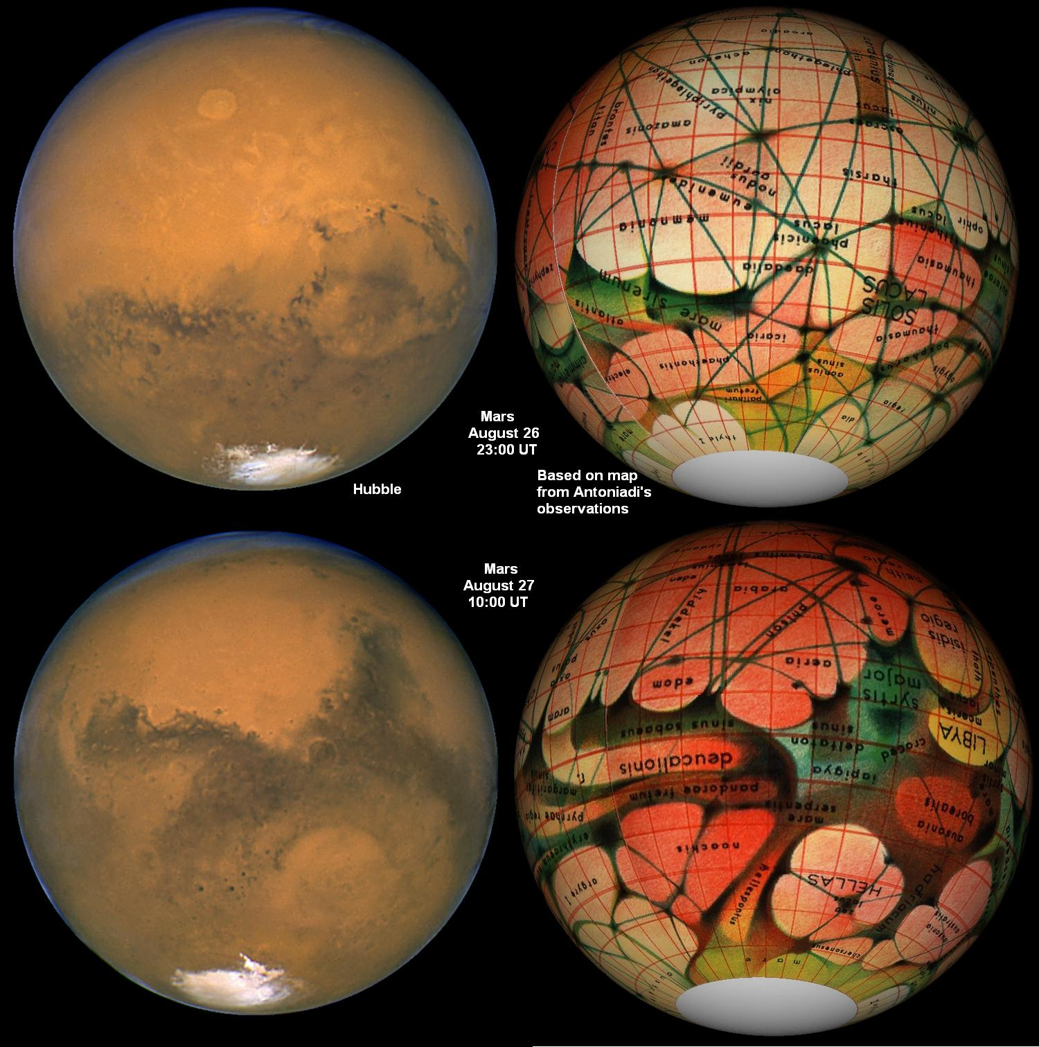 Satellites orbiting Mars have now shown conclusively that the red planet ...