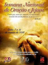 Semana Nacional de oração