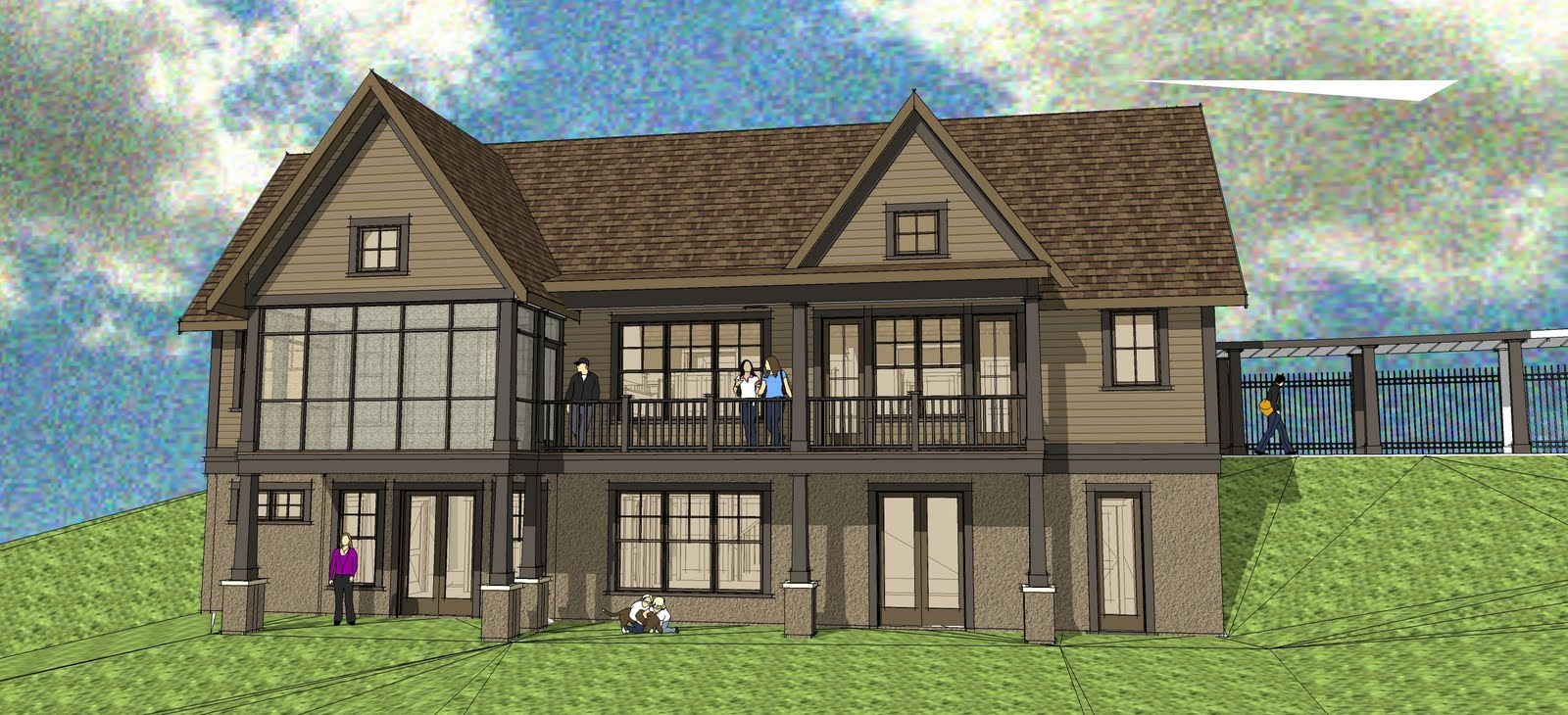Simply elegant home designs blog may 2010 for Simply elegant house plans