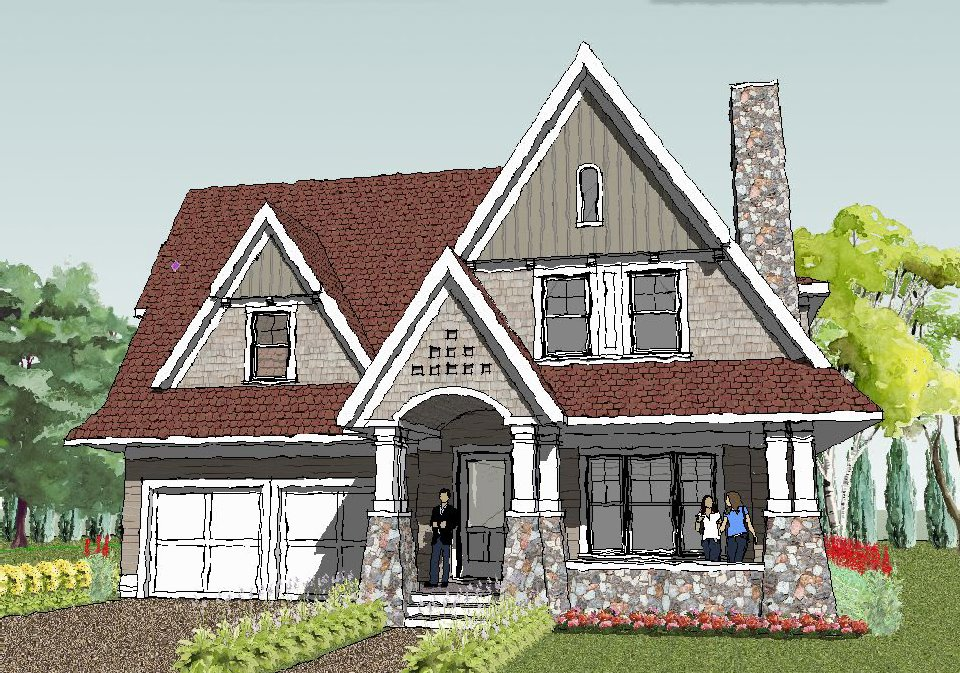 Simple House Plans with Front Porch