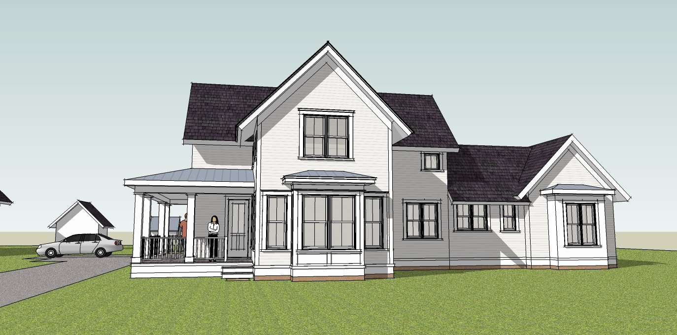 Nice Simple Yet Unique Farmhouse Plan With A Wrap Around Porch And A Main Floor  Master Bedroom. Classic Midwest Living!