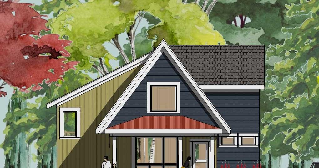 Simply Elegant Home Designs Blog New Modern Cottage House