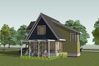 Modern Design Home Plans on Simply Elegant Home Designs Blog  New Modern Cottage House Plan