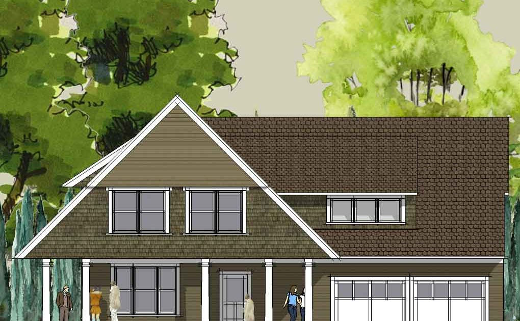 Afton Bungalow home plan fr - Get Unique Small Budget House Design Images