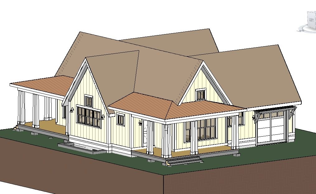 Simply elegant home designs blog revit house plans for Elegant farmhouse plans
