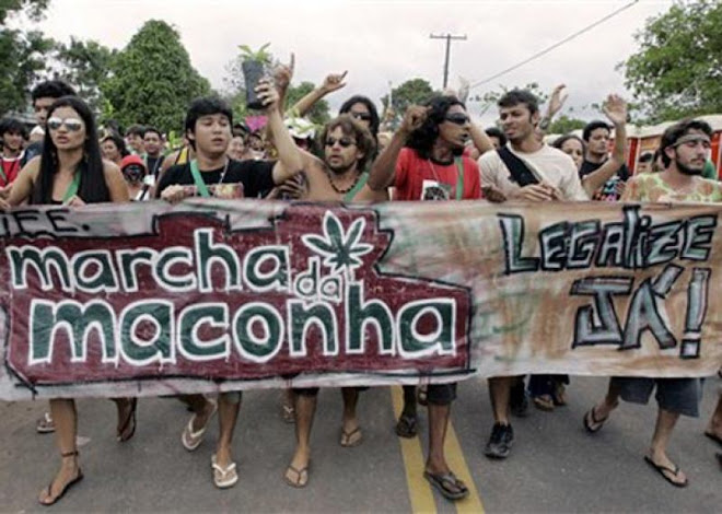 Marcha da maconha no FSM
