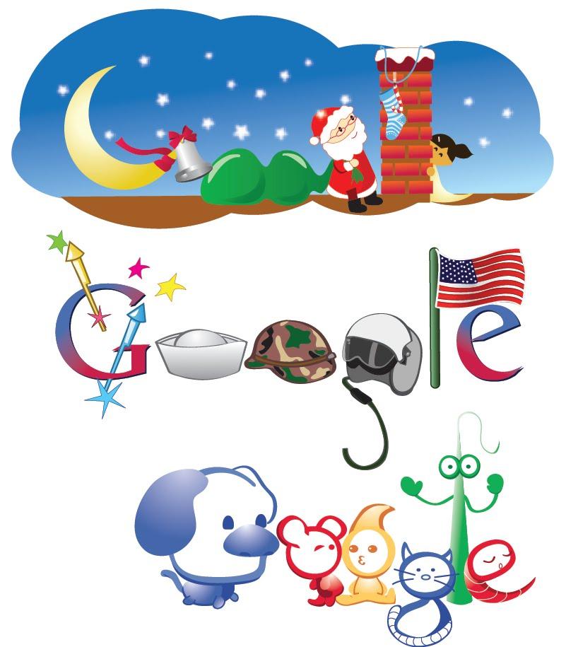 Google Logo smaples