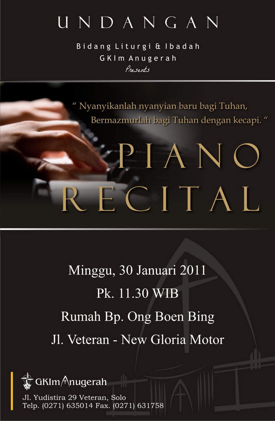 Cerita Bagoes Piano Recital Invitation