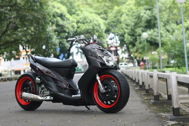 Gambar Modifikasi Motor  Modifikasi Motor Matic  Mio Soul