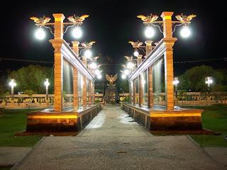 Potret Kota PalangkaRaya di Malam Hari