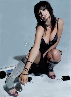 Ashlee Simpson Sexy hot Bikini Image