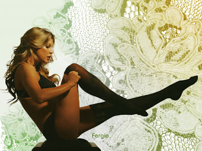 fergie free desktop wallpaper