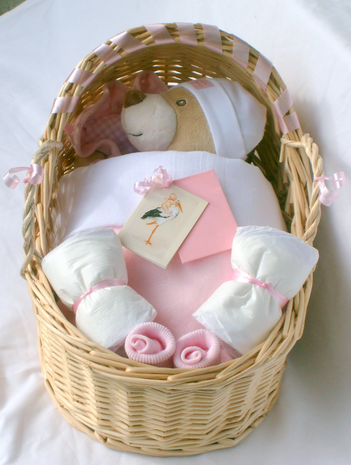 Baby Gift Baskets Boots : New baby gift baskets