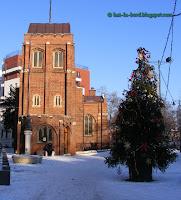biserica anglicana bucuresti iarna
