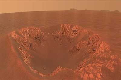Cratera em Marte