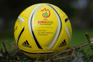 UEFA Euro 2008 Austria Switzerland Áustria Suiça official ball bola oficial football futebol