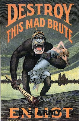 ~*~ Greatest Quotes Ever ~*~ 'Destroy_this_mad_brute'_WWI_propaganda_poster_(US_version)