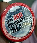 Anti Demo Jalanan