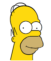 Homer made with CSS
