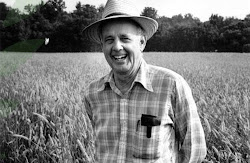 You need to read Wendell Berry&#39;s works of fiction