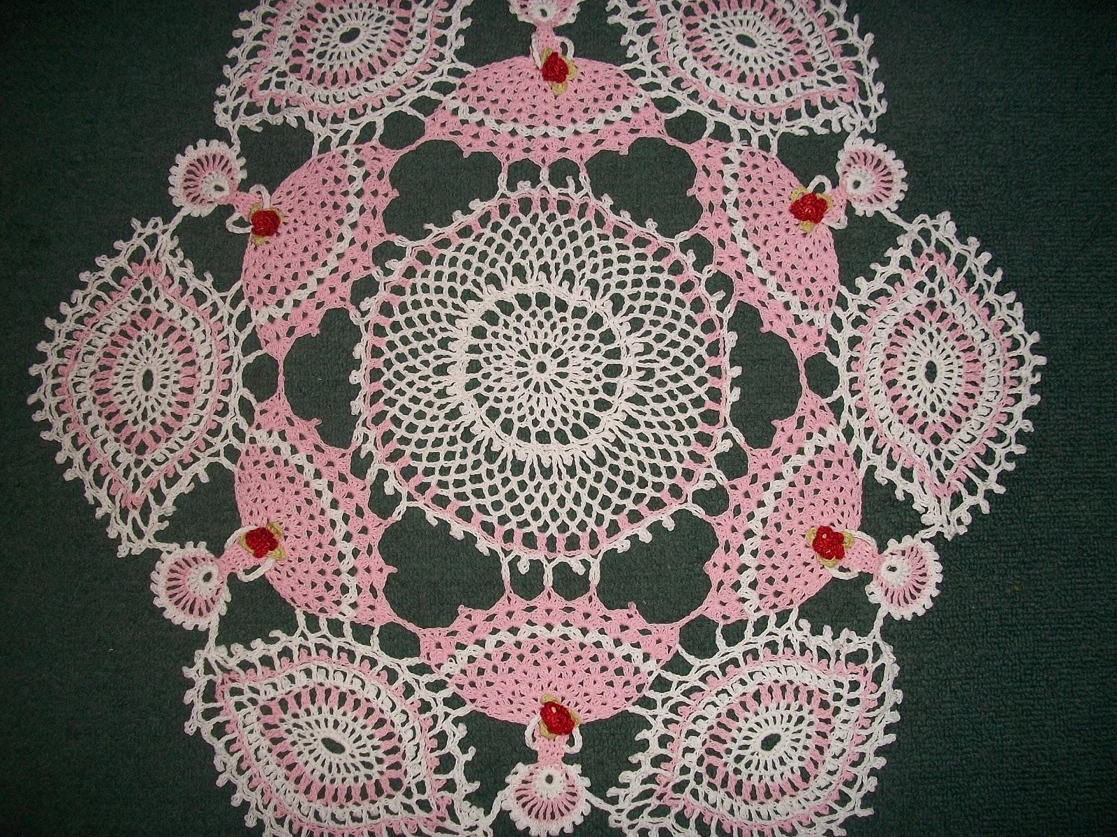 Carpetas ovaladas tejidas a gancho - Imagui