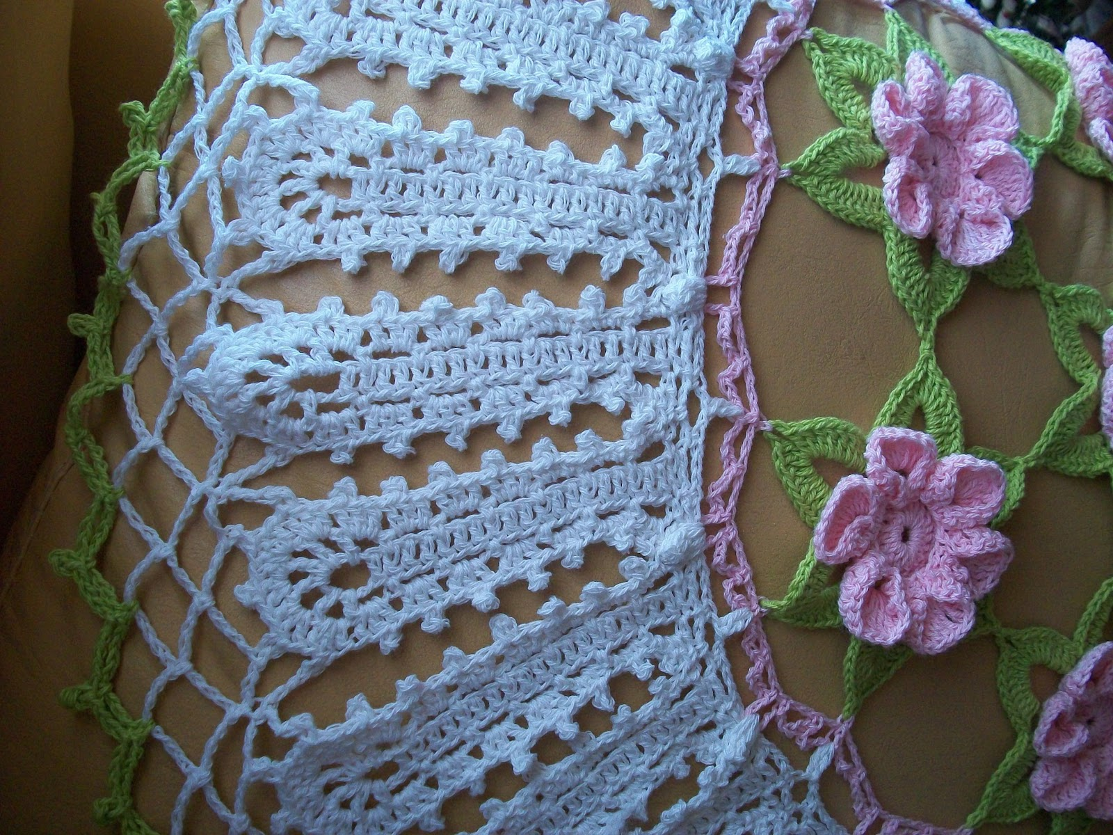 Cortinas A Crochet Patrones En Picasa | Jongose Ninja