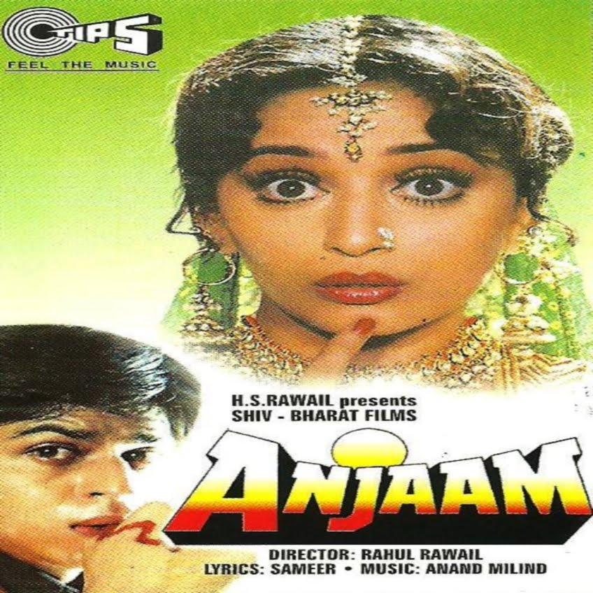 Anjaam Lyrics and video of Songs from the Movie Anjaam