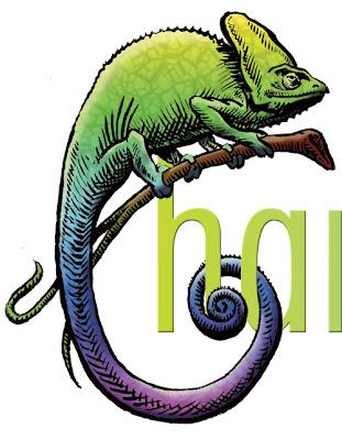 Green chameleon logo - photo#16