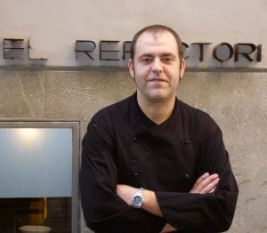 Chef Tolo Trias at Refectori in Palma, Majorca