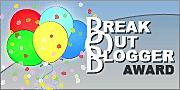 Breakout Blogger Award