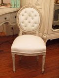 Louis 16th Style Parlor Chair ~ circa 1880's from Karina Gentinetta ~ New Orleans