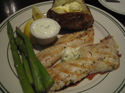McGrath's Fish House - grilled snapper