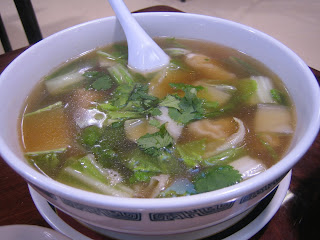 Canaan Restaurant - won ton soup